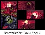 red location background full... | Shutterstock .eps vector #568172212