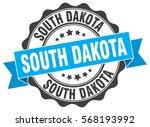 south dakota | Shutterstock .eps vector #568193992