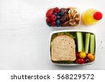 Healthy Lunch Boxes With...
