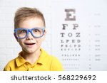 little boy with spectacles on...   Shutterstock . vector #568229692