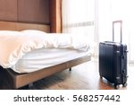 view of hotel room | Shutterstock . vector #568257442