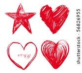 heart   Shutterstock .eps vector #56826955