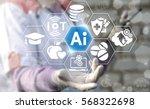 ai it iot medicine integration... | Shutterstock . vector #568322698