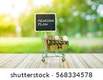 business concept   pension plan ... | Shutterstock . vector #568334578