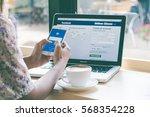 bangkok. thailand. january 31 ... | Shutterstock . vector #568354228