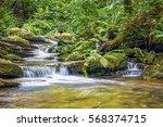 river trevillet running through ... | Shutterstock . vector #568374715