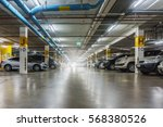 parking garage  underground... | Shutterstock . vector #568380526