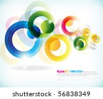 eps10 vector background | Shutterstock .eps vector #56838349