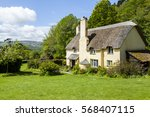 Thatched Roof Cottage In A...