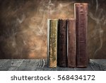 the ancient book | Shutterstock . vector #568434172