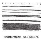 vector black design elements on ... | Shutterstock .eps vector #568438876