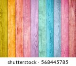 colored wood background | Shutterstock . vector #568445785