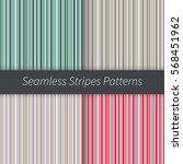 line backgrounds set. green red ...   Shutterstock .eps vector #568451962