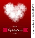 valentine s day backgrounds.... | Shutterstock .eps vector #568490992