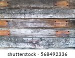 Picture Of An Old Fence Made O...