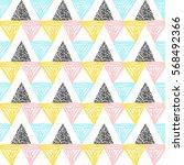vector abstract seamless...   Shutterstock .eps vector #568492366