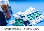 medicine  pills  syrups | Shutterstock . vector #568492822