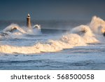 Stormy Waves At Tynemouth...