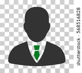 manager icon. vector...   Shutterstock .eps vector #568516828