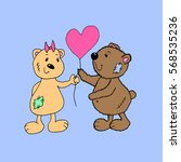 bears. | Shutterstock .eps vector #568535236