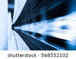 futuristic style speed motion...   Shutterstock . vector #568552102