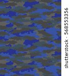 fashionable camouflage pattern  ... | Shutterstock .eps vector #568553356
