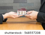 mortgage home | Shutterstock . vector #568557208