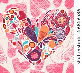 heart | Shutterstock .eps vector #56856586
