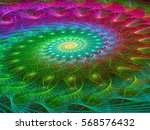 Intricate Spiral   Abstract...