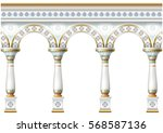 Fabulous Ancient Arch Facade I...