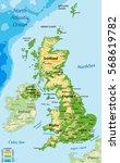 united kingdom of great britain ...   Shutterstock .eps vector #568619782