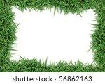 grass frame | Shutterstock . vector #56862163