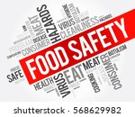 food safety word cloud collage  ... | Shutterstock .eps vector #568629982