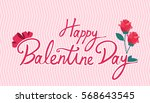 valentine day | Shutterstock .eps vector #568643545