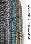 building under construction.... | Shutterstock . vector #568644226