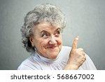 grandmother | Shutterstock . vector #568667002