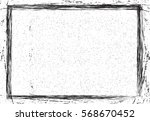 grunge frame texture. stock... | Shutterstock .eps vector #568670452