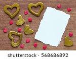 valentine day concept  ... | Shutterstock . vector #568686892