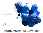 fine art cosmetics and beauty... | Shutterstock . vector #568695208