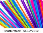 colorful straws for party