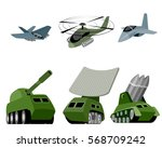 vector illustration of a six... | Shutterstock .eps vector #568709242