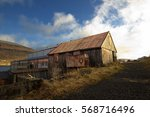 old house at a shipyard in the...