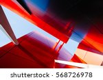 wide angle abstract background... | Shutterstock . vector #568726978