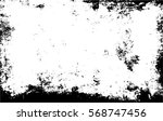 grunge black and white urban... | Shutterstock .eps vector #568747456