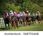 Horseracing In Czechia  Europe. ...