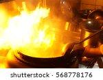 Working Chef Preparing Chinese...