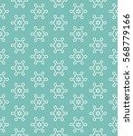 seamless geometric line pattern ... | Shutterstock .eps vector #568779166