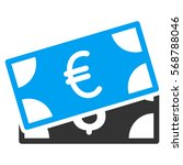 currency banknotes vector icon. ...   Shutterstock .eps vector #568788046