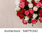 Bouquet Of Roses Background....