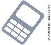 vector illustration of gray... | Shutterstock .eps vector #568792798